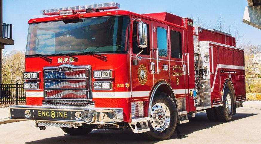 Volterra Electric Fire Truck